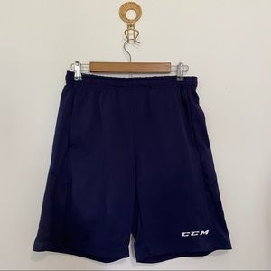 CCM Basketball Athletic Shorts Navy